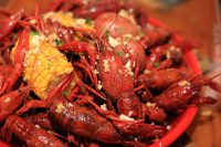 Boiled Crawfish from Bluewater Seafood