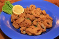 Fried Calamari from Bluewater Seafood
