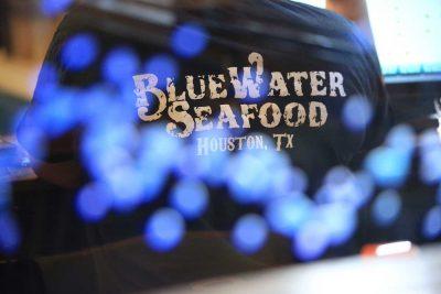 Bluewater Seafood Houston Texas shirt