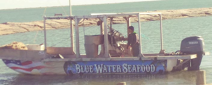 Bluewater Seafood Boat