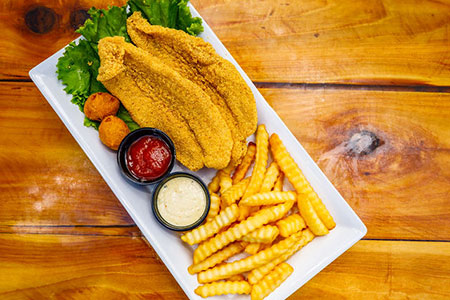 Bluewater Seafood Fried Catfish